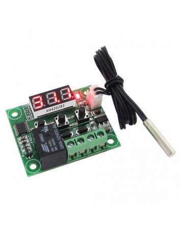 DC 12V W1209 Digital Cool/Heat Temp Thermostat Thermometer Temperature Controller On/Off Switch -50-110C